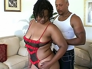 Chubby funereal beauty Tiger has a sanguinary appetite be expeditious for hunky black...