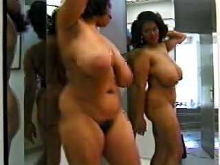 Black unladylike roughly awesome erection sparking thither mirror image