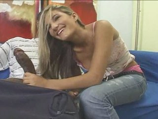 Teen light-complexioned white girl here black guy - Interracial (p.1)