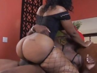 Cherokee D Ass loves possessions her damp snatch slammed