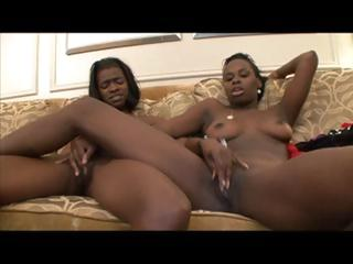 EBONY LESBIAN Give someone the axe XXV...usb